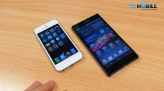 Sony Xperia Z vs iPhone 5