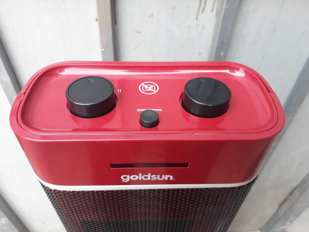 Hình ảnh thực tế quạt sưởi goldsun GCH-3001M